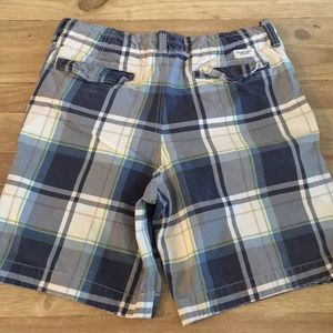 Abercrombie & Fitch Shorts Plaid Casual  Heavy